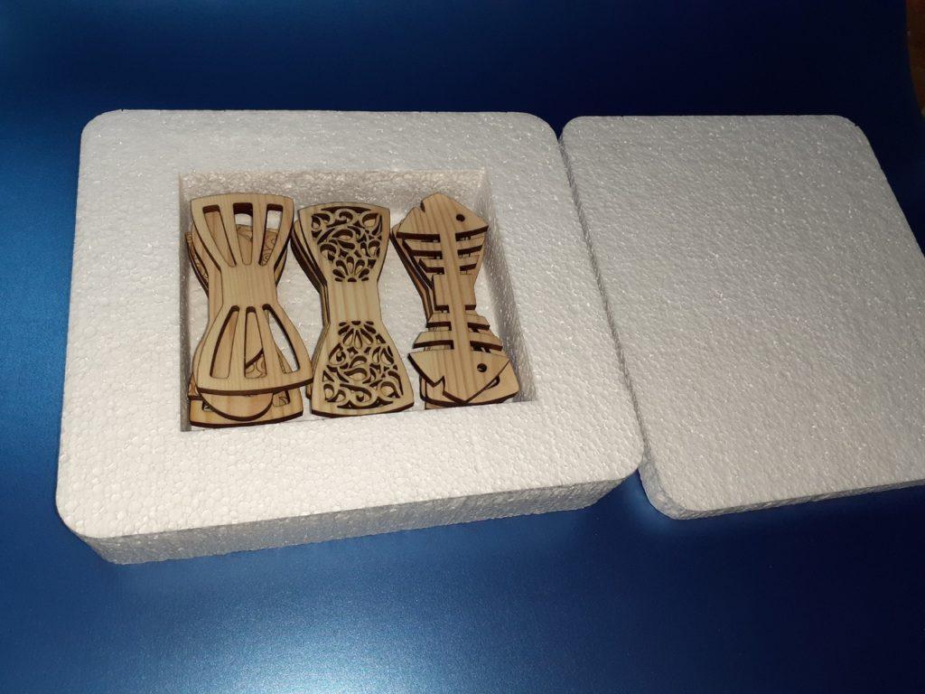 Деревянные галстуки бабочки оптом
